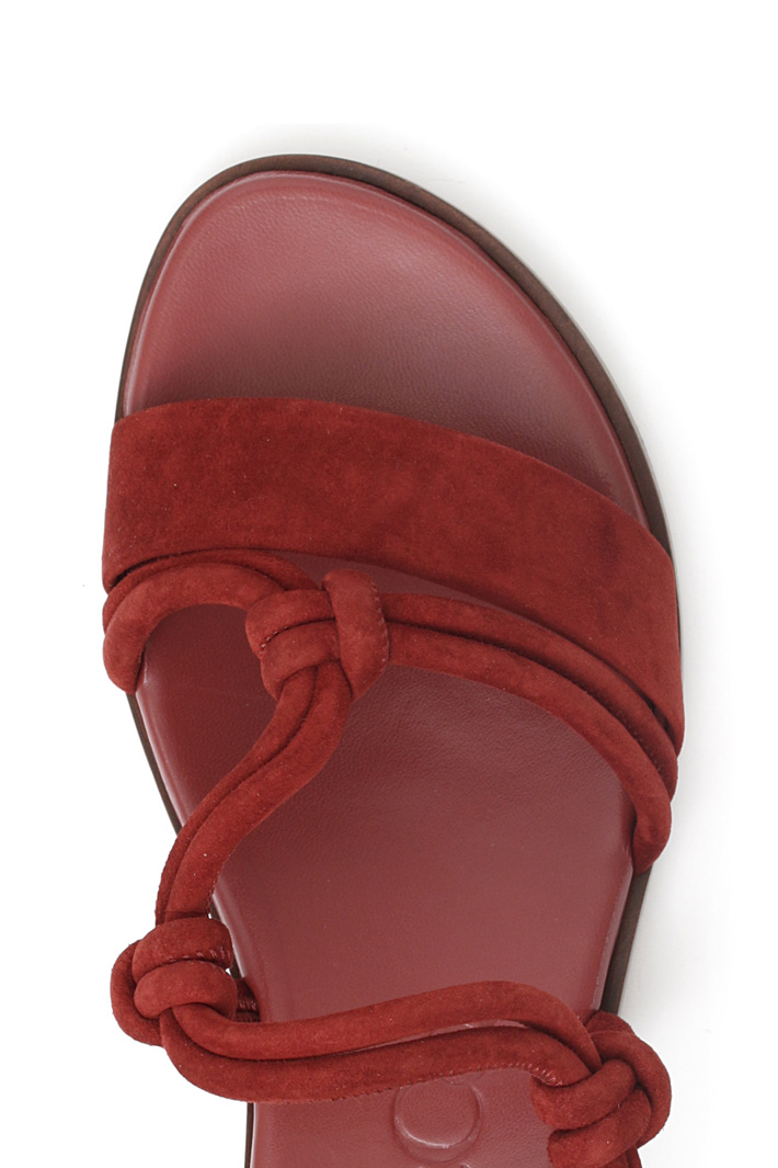 Suede sandals Intrend