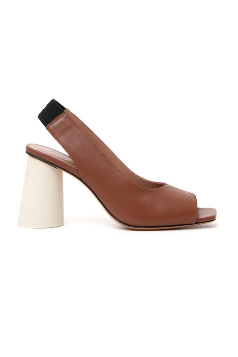 Sandalo con tacco rotondo Intrend