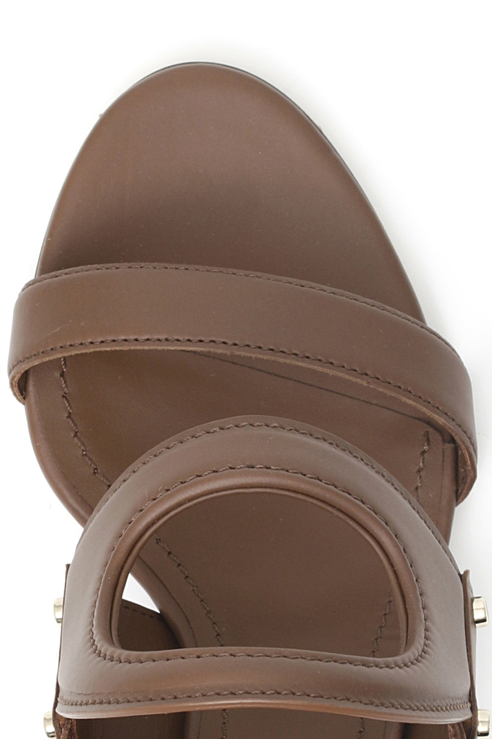 Sandalo alto in pelle Intrend