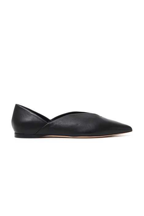 Leather ballerinas Intrend