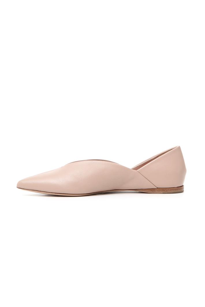 Leather ballerinas Intrend