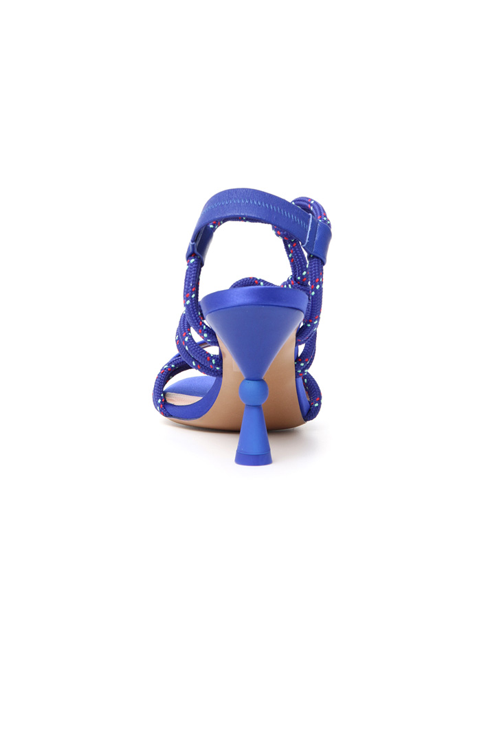 Rope laced sandals Intrend