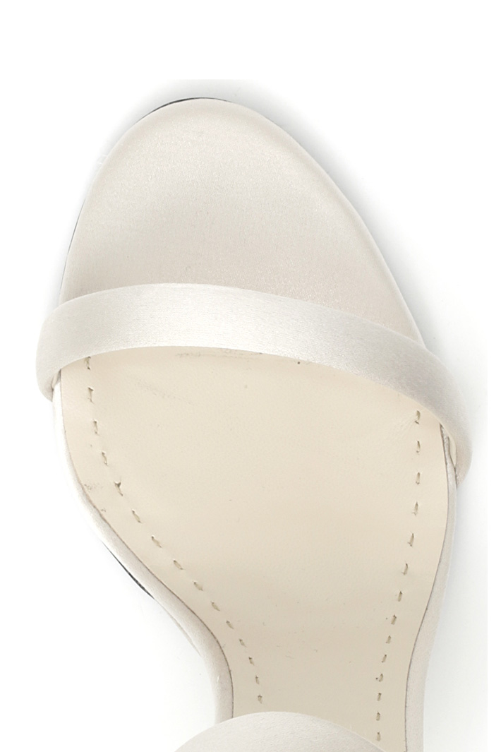 Sandalo in raso di seta Intrend