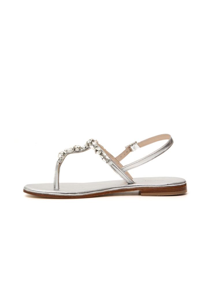 Jewel-detailed sandals Intrend