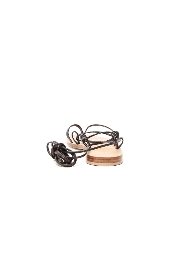 Sandali in pelle con lacci Intrend