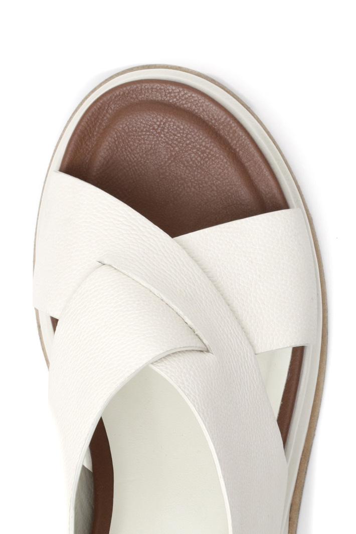 Sandalo platform in pelle Intrend