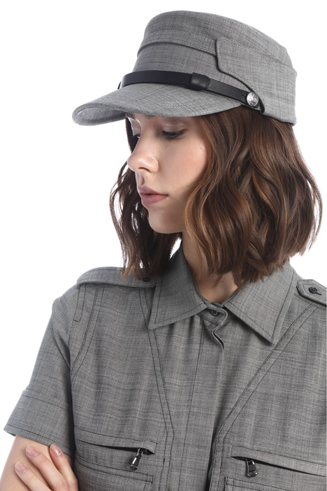 Hat with visor Intrend