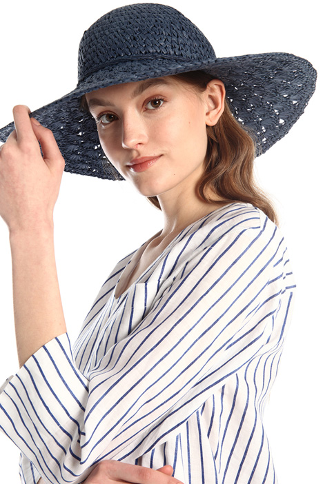 Wide straw hat Intrend