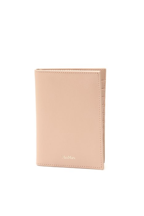 Leather passport holder Intrend