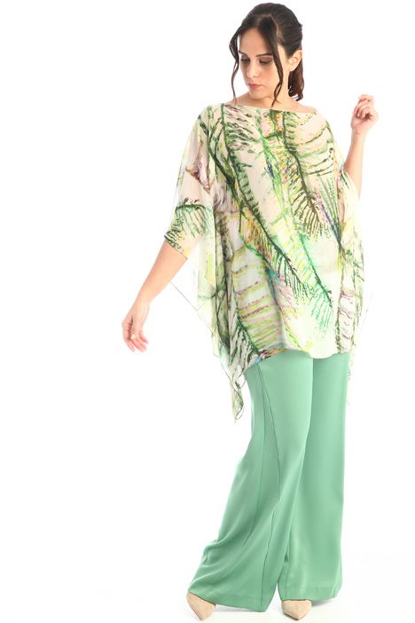 Tunic in printed chiffon Intrend