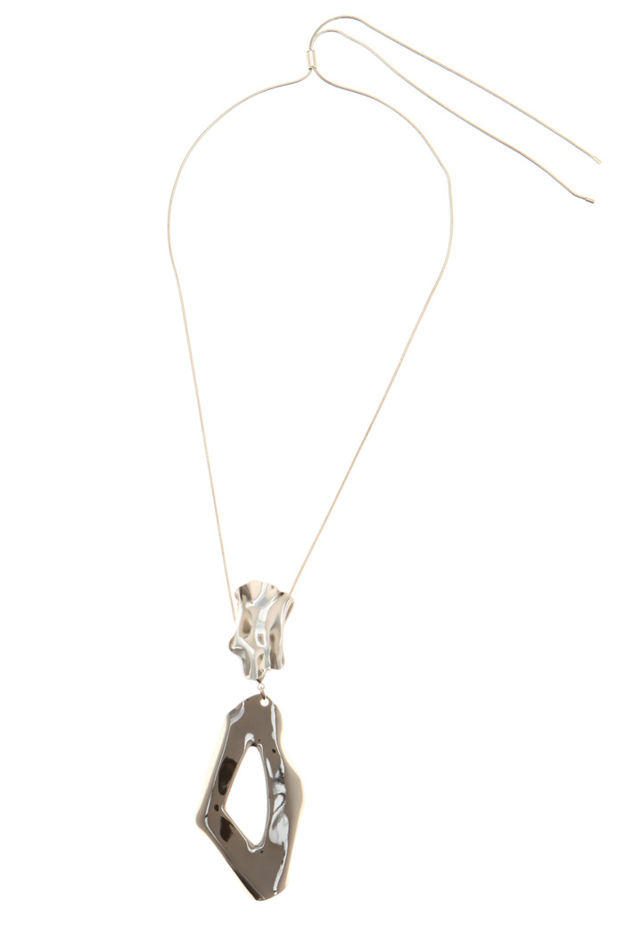 Necklace with sculpture pendant  Intrend