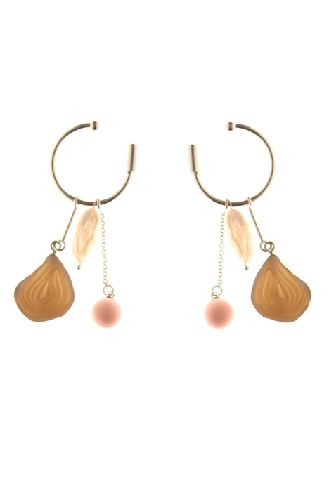 Single earring with charms  Intrend