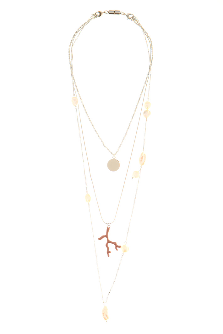 Three-string necklace  Intrend