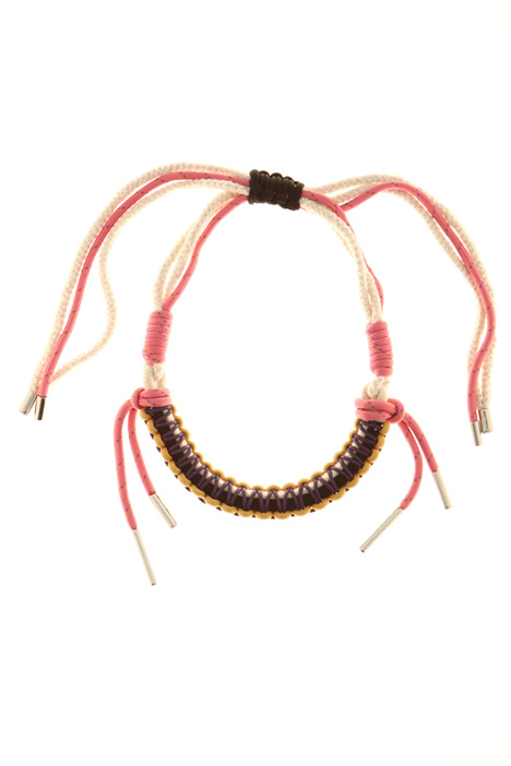 Braided necklace Intrend
