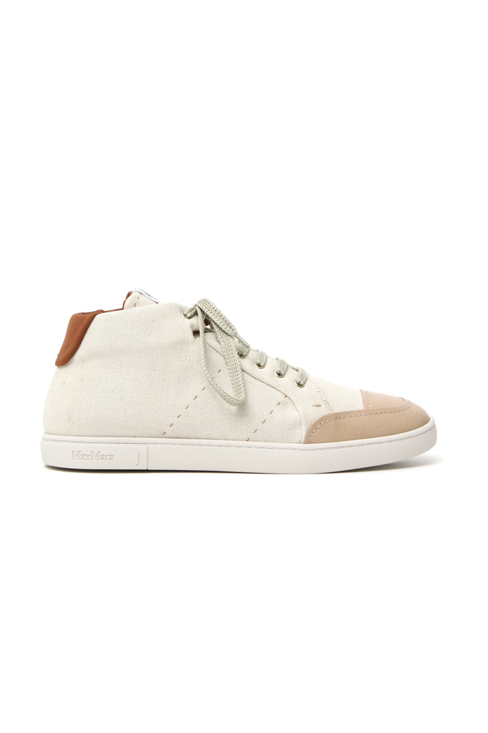 Cotton canvas sneakers Intrend