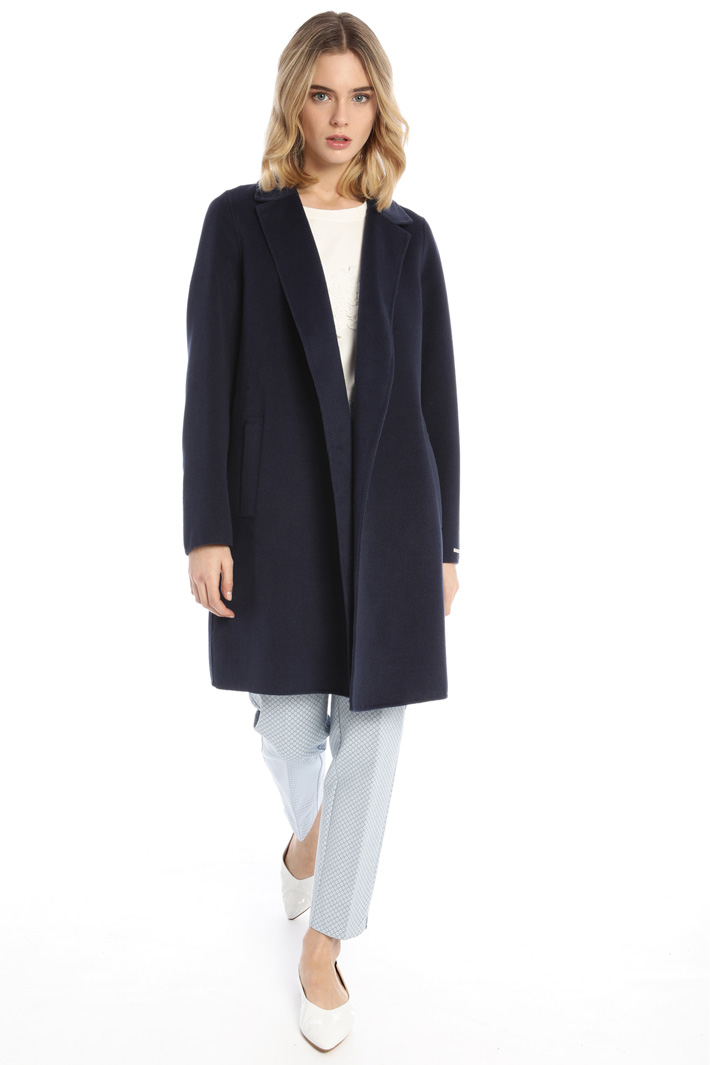 Double fabric coat Intrend