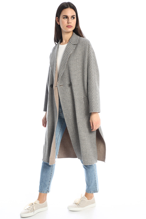 Wool reversible coat Intrend
