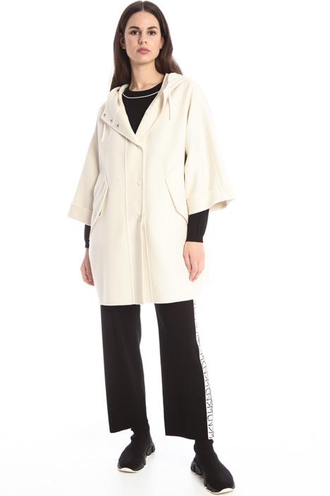 Oversized virgin wool coat Intrend