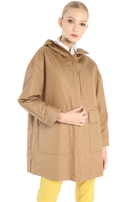 Gabardine raincoat Intrend