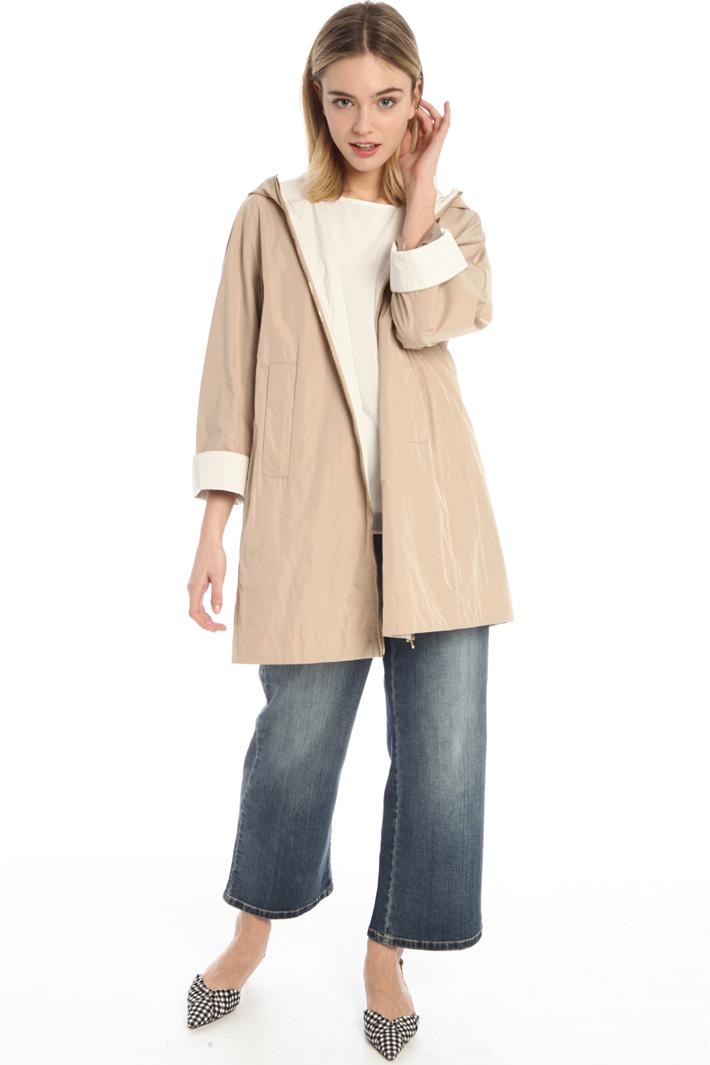 Water resistant duster coat Intrend