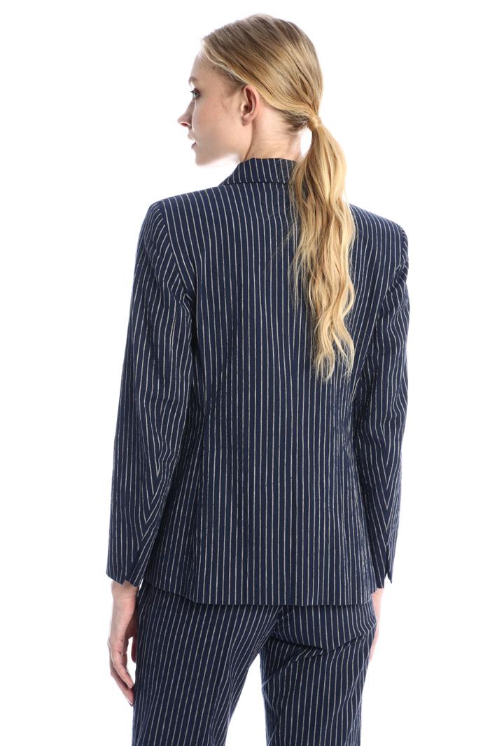 Cotton and linen blazer Intrend