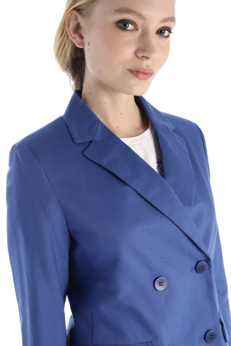 Cotton and linen jacket Intrend