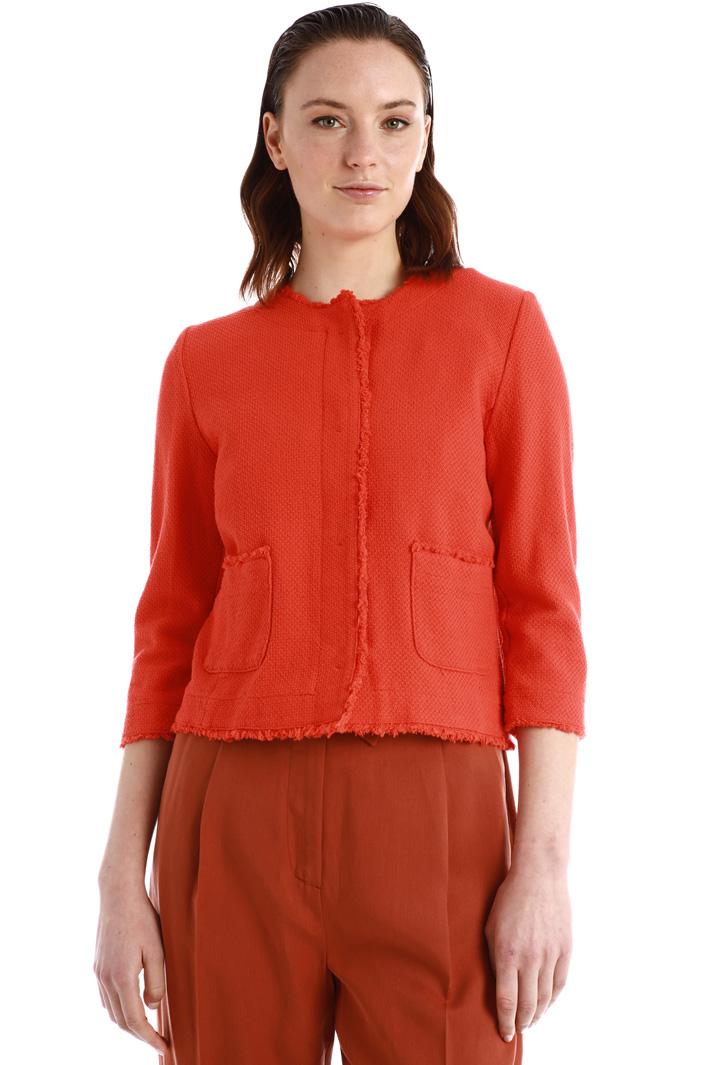Cotton tweed jacket Intrend