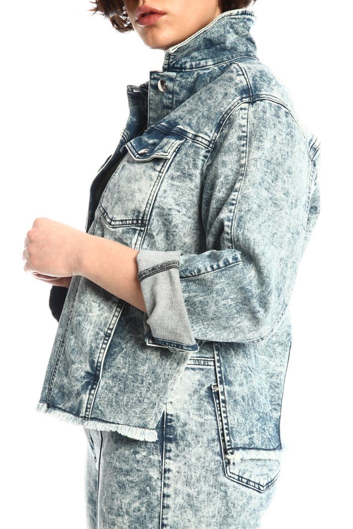 Rhinestone-detailed jacket Intrend
