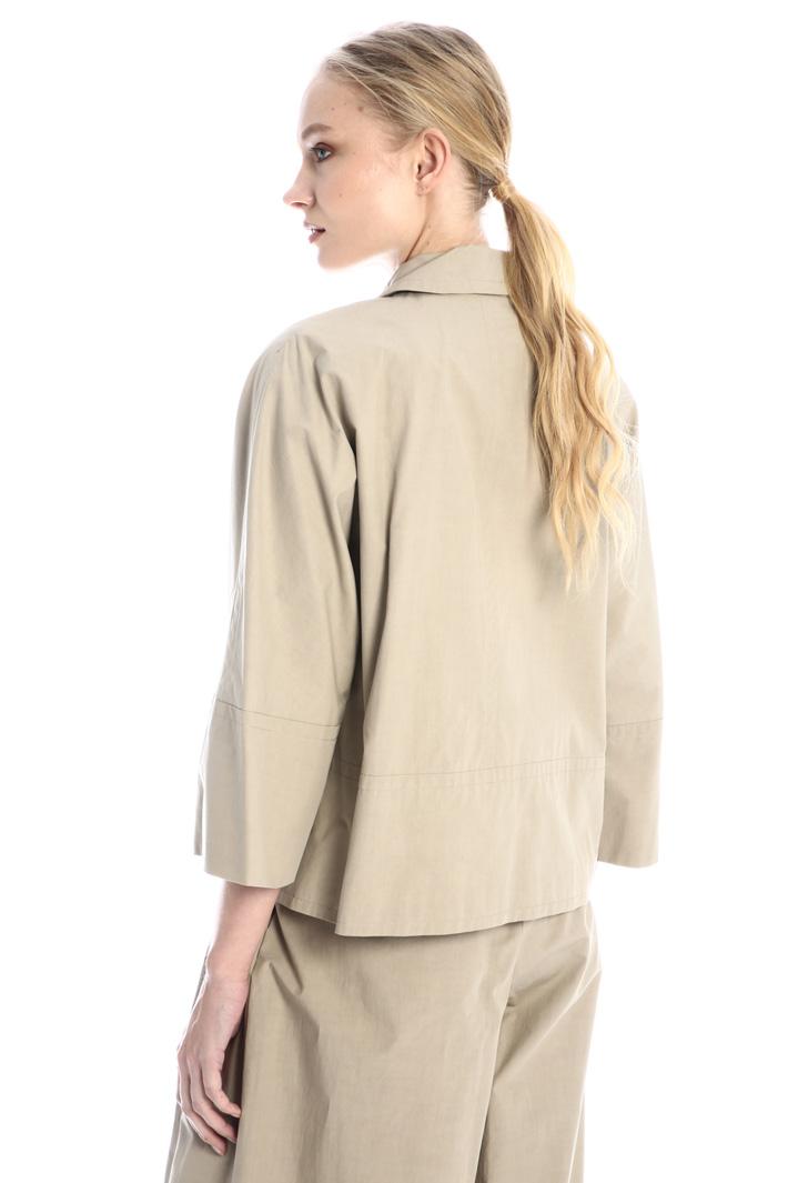 Cotton canvas jacket Intrend