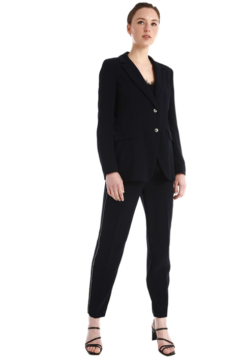 Rhinestone-detailed suit Intrend