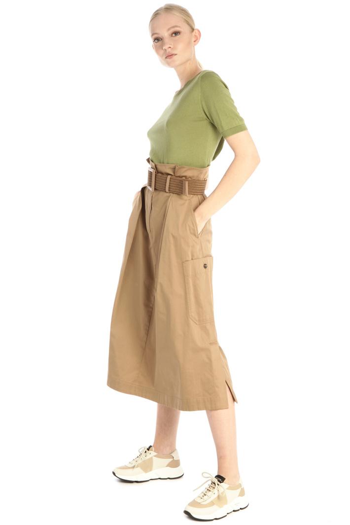 High waist satin skirt Intrend