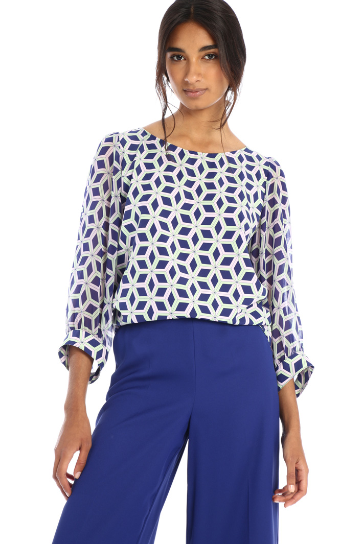 Cady and georgette blouse Intrend