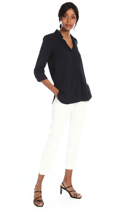 Soft fit crepe blouse Intrend