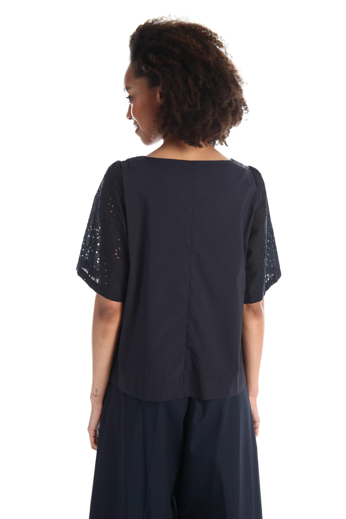 St. Gallen embroidery top Intrend