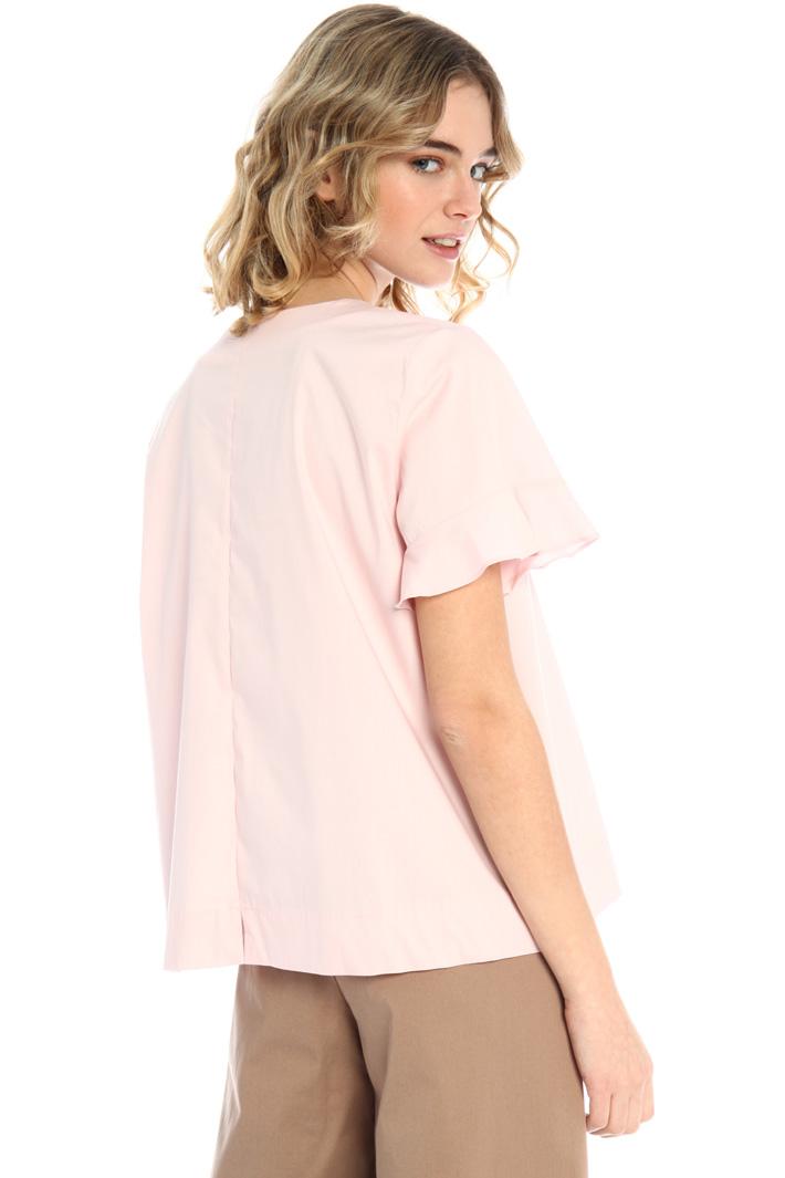 Poplin blouse Intrend