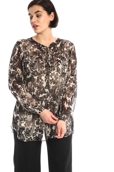 Loose georgette shirt Intrend