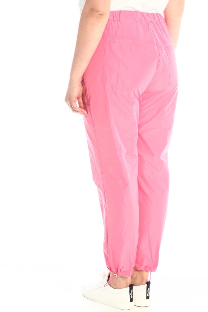 Taffeta jogging-style trousers Intrend