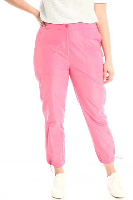 Taffeta jogging-style trousers Intrend