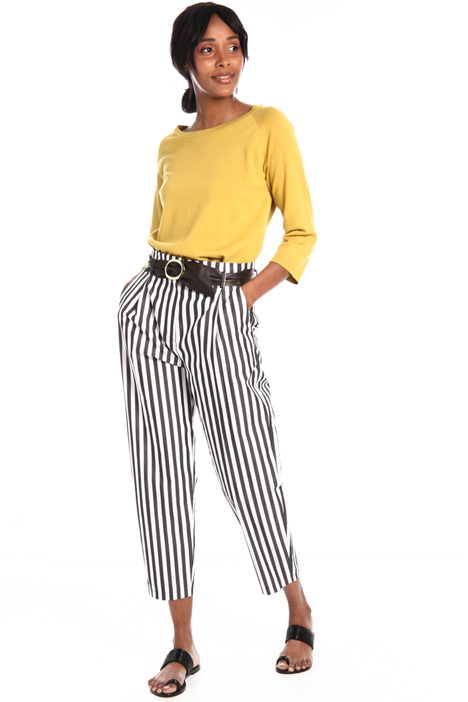 Poplin baggy trousers Intrend