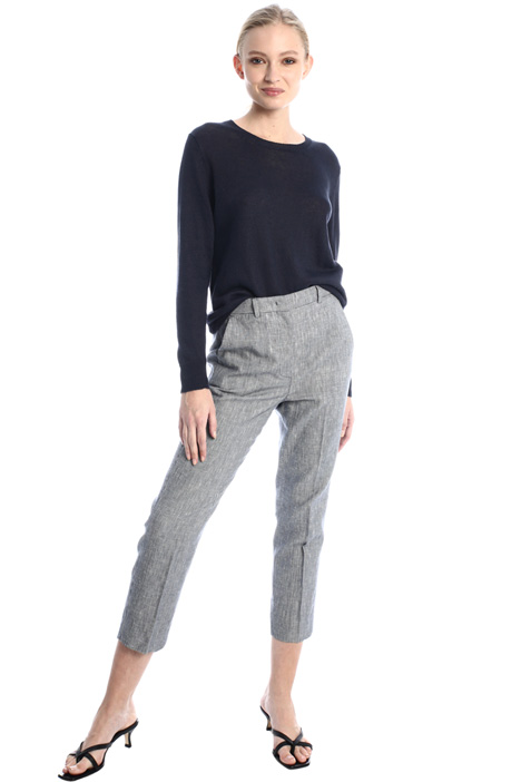 Interwoven cigarette trousers Intrend