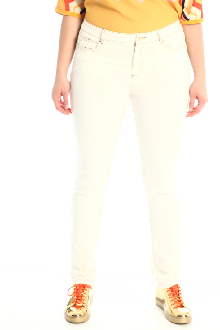 Cigarette bull trousers Intrend