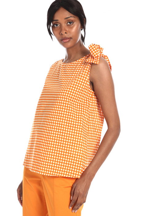 Patterned muslin tunic Intrend