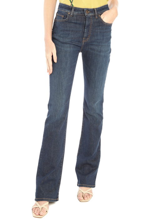 Cotton denim jeans Intrend