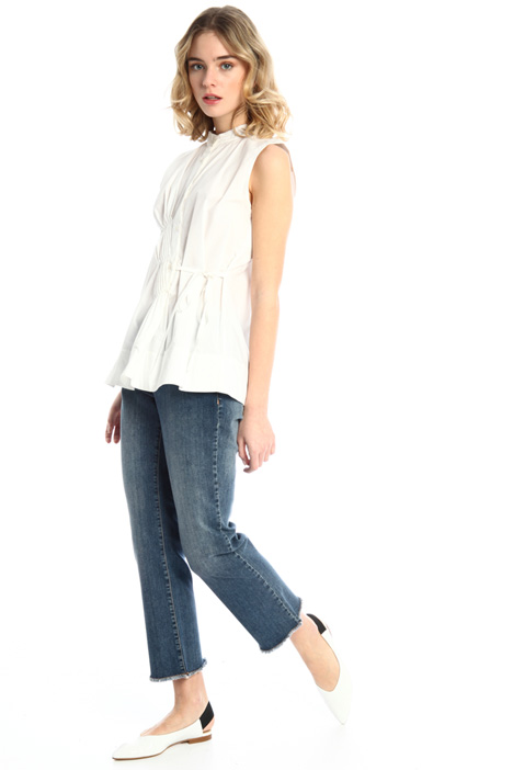 Fringed flare trousers Intrend
