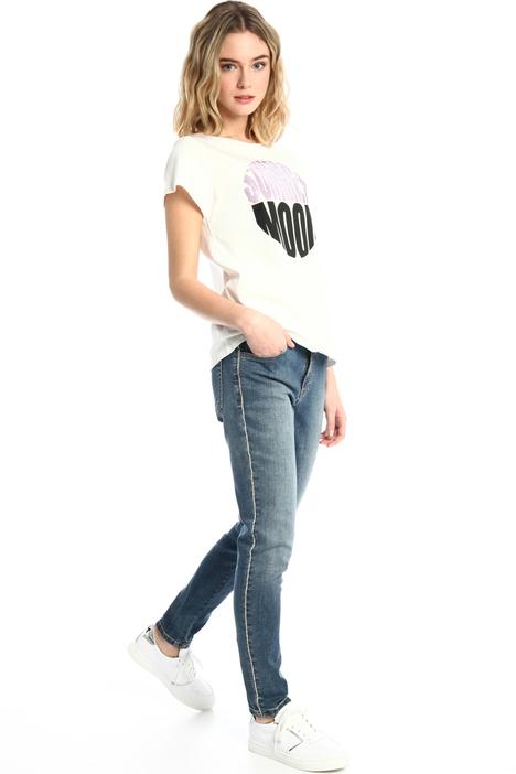 Rhinestone skinny jeans Intrend