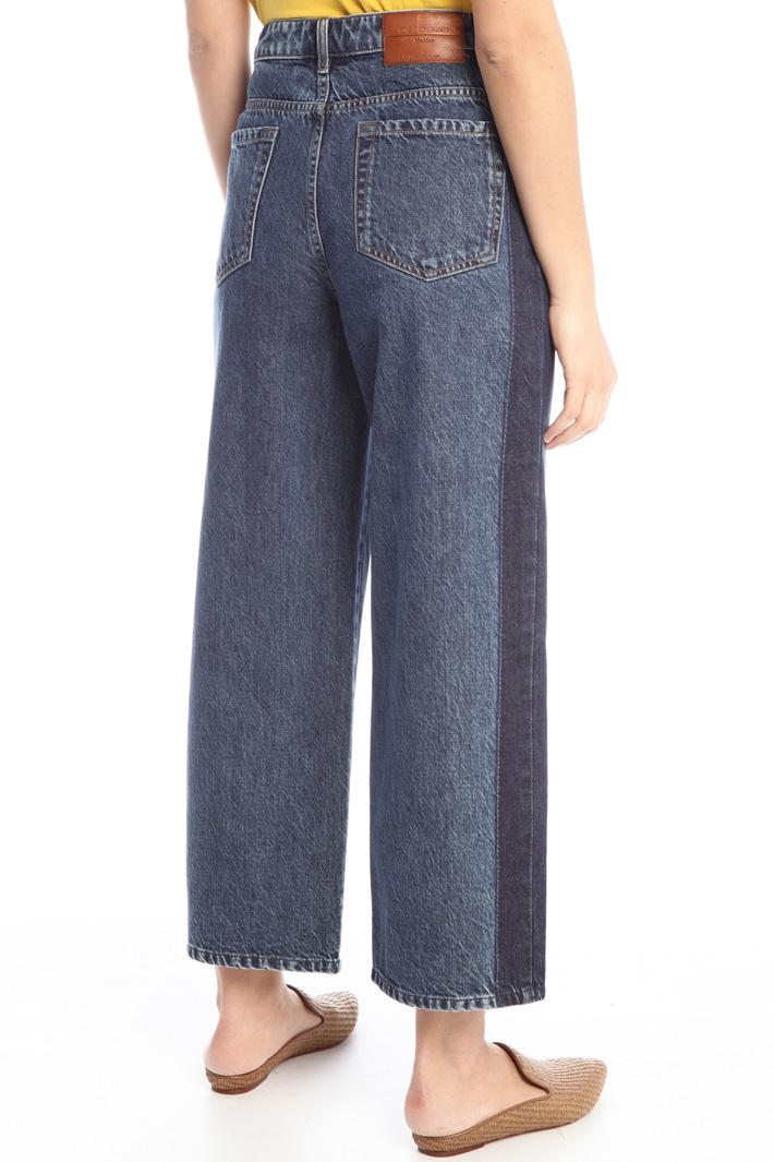 Straight denim trousers Intrend