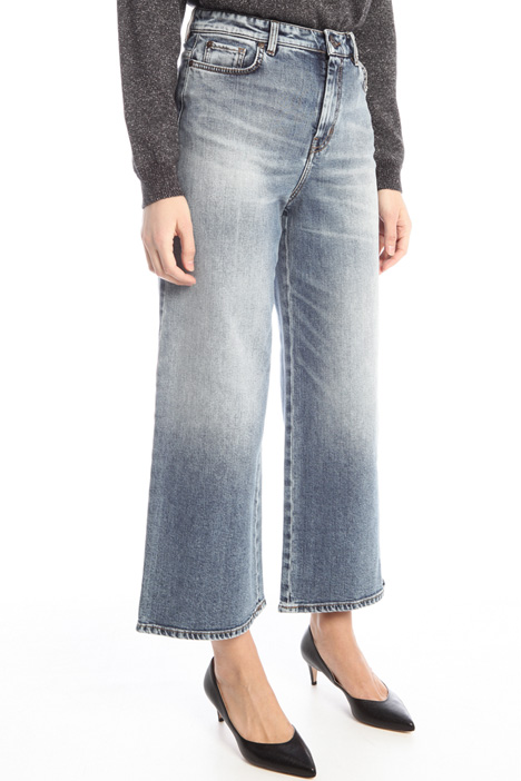 Cropped wide-leg jeans Intrend