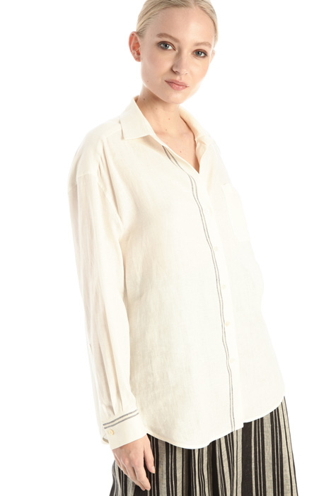 Linen canvas shirt Intrend