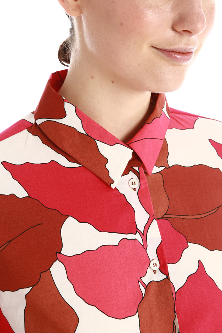 Patterned shirt Intrend