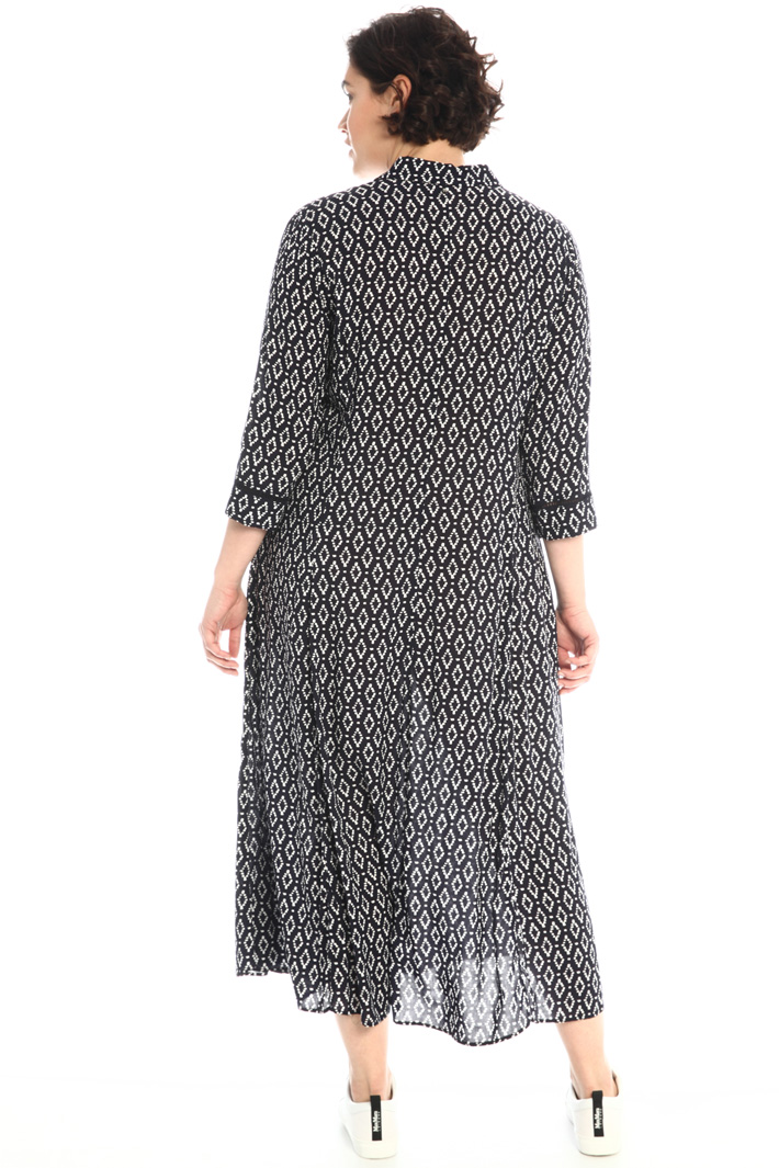 Embroidered chemisier dress Intrend